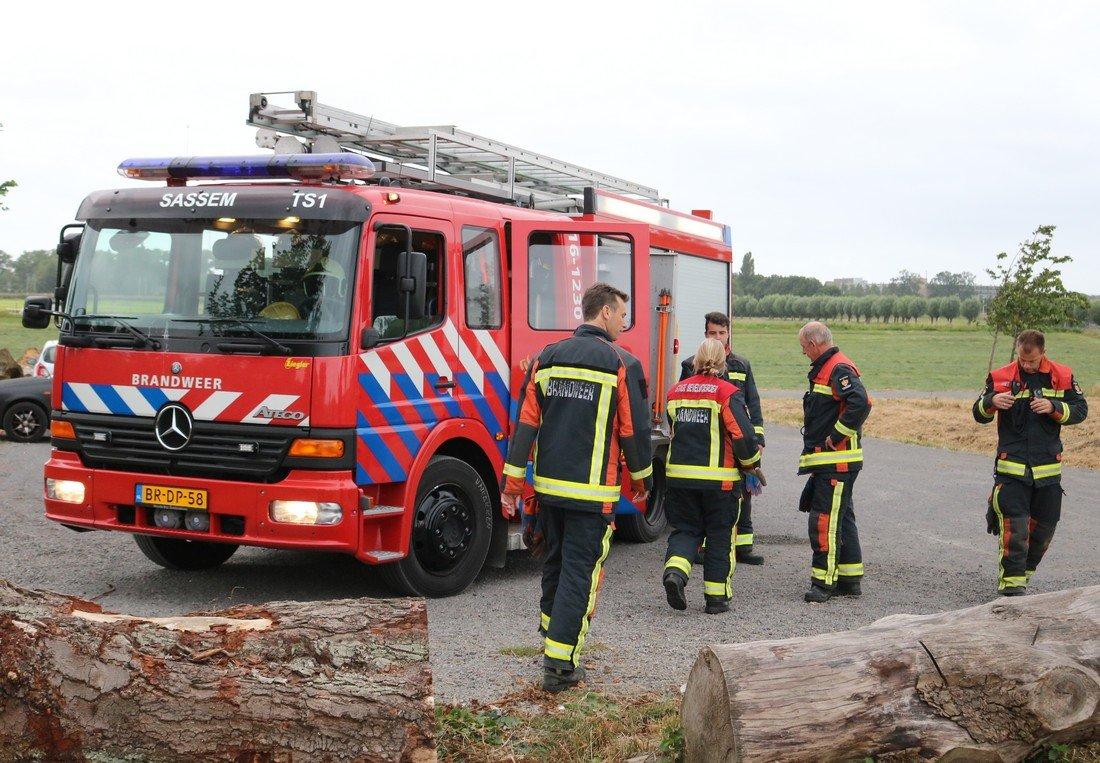 Buitenbrand Menneweg Sassenheim