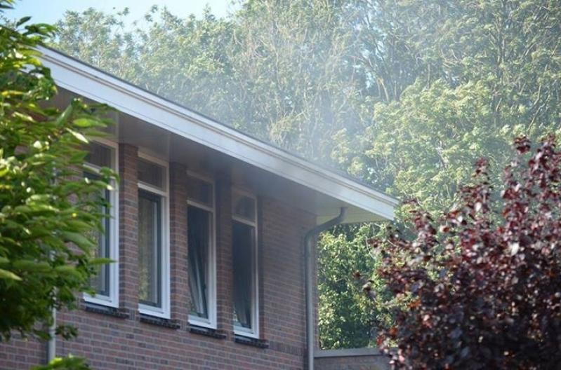 P1 Gebouwbrand woning Plattanderlaan Sassenheim