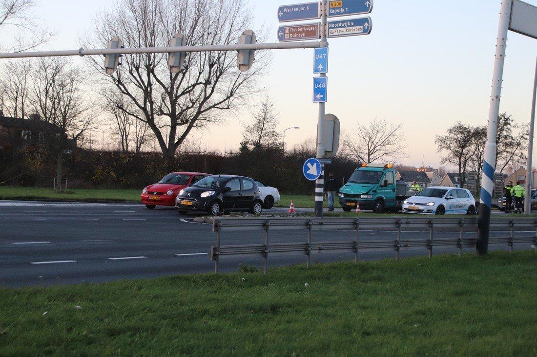 Ongeval Wassenaarseweg N206 Katwijk