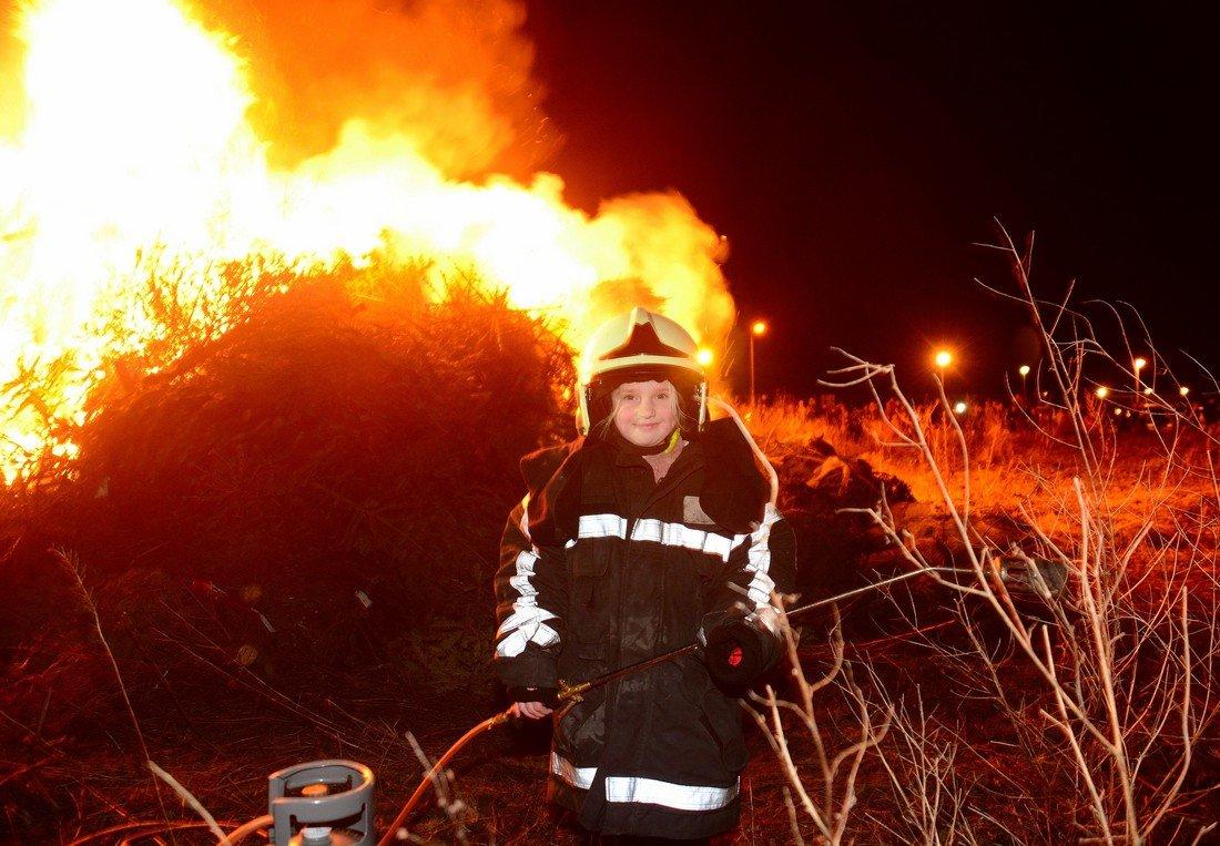 Kerstbomen verbranding Valkenburg
