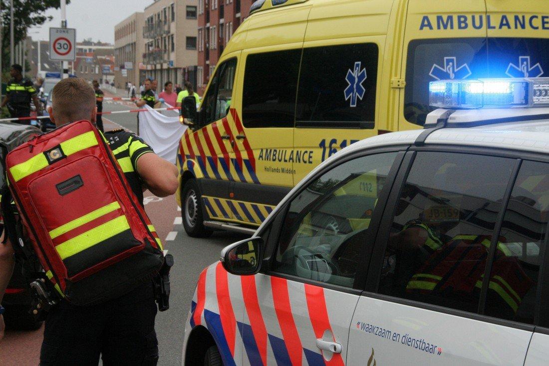 Ongeval Tramstraat Katwijk