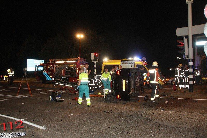 Wegvervoer aanrijding letsel (beknelling licht) Haarlemmertrekvaart - N444 Sassenheim