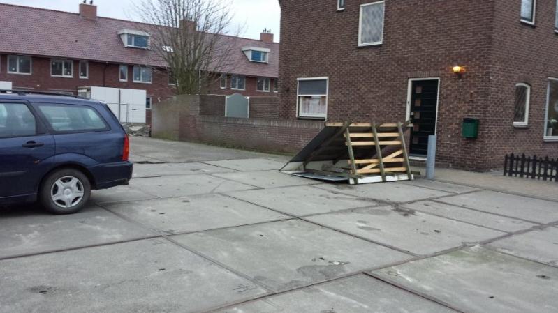 P 2 Stormschade (dak-/geveldeel) Catharijnelaan Lisse1230
