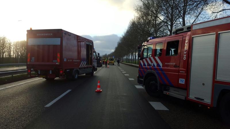 P1 Ongeval wegvervoer Letsel A44 Buitenkaag