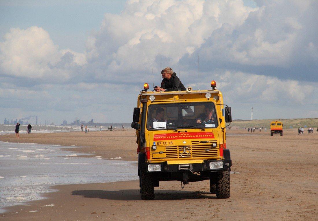 Grote zoekactie naar vermiste jongen voor de kust van Noordwijk