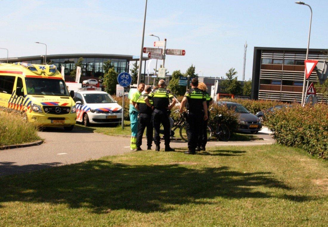 Ongeval auto / fiets Jonckerweg Noordwijk