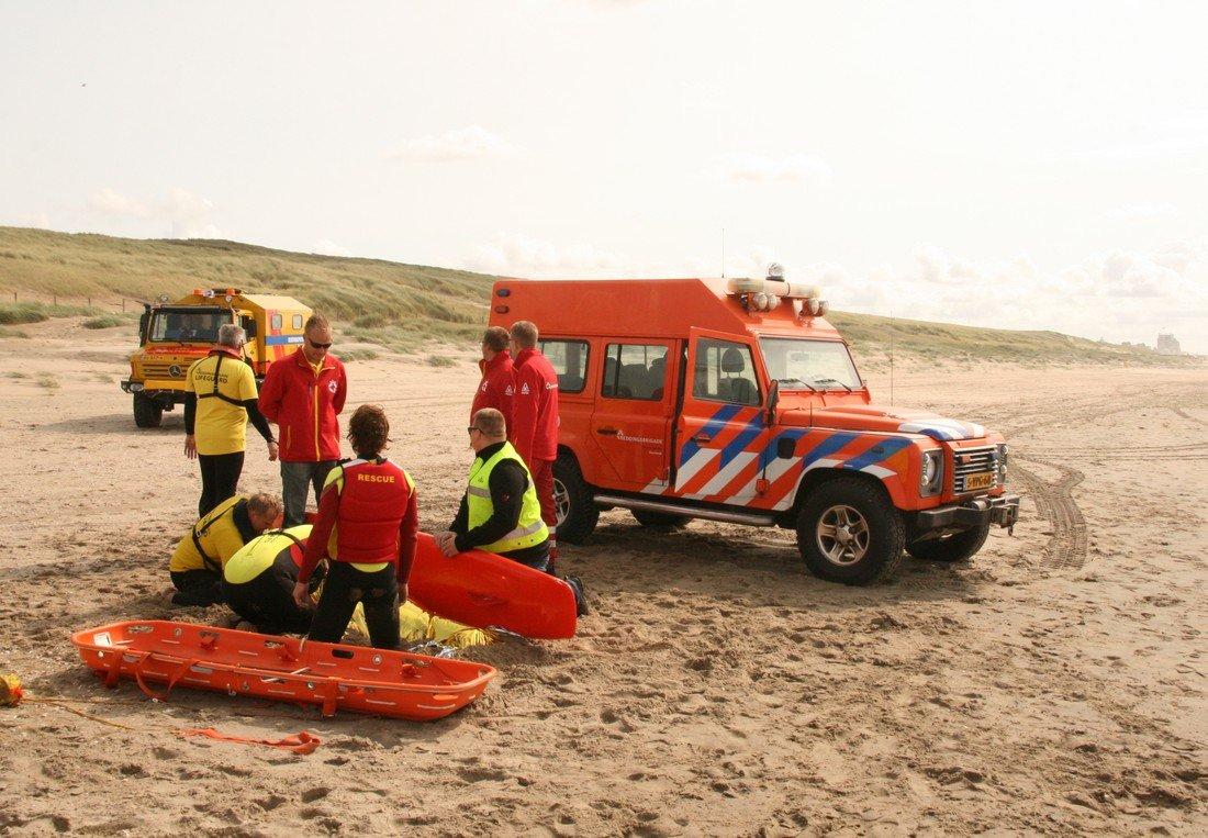 Oefening NRB strand Noordwijk