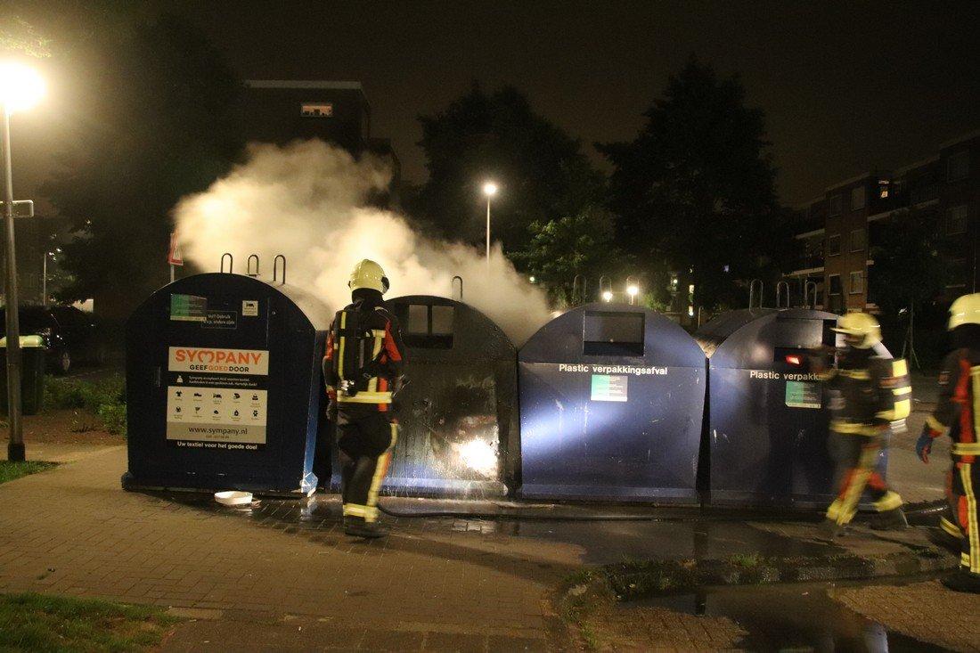 Diverse branden Rederijkersplein Noordwijk