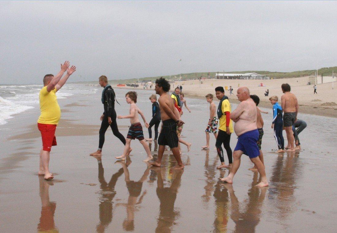 Eerste muizwem cursus bij Post 1 van de NRB