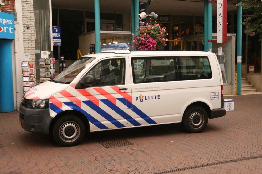 Hennepkwekerij opgerold Hoofdstraat Noordwijk