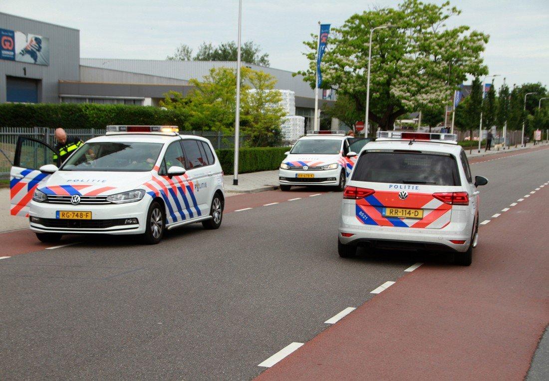 Ongeval Wasbeeklaan Sassenheim