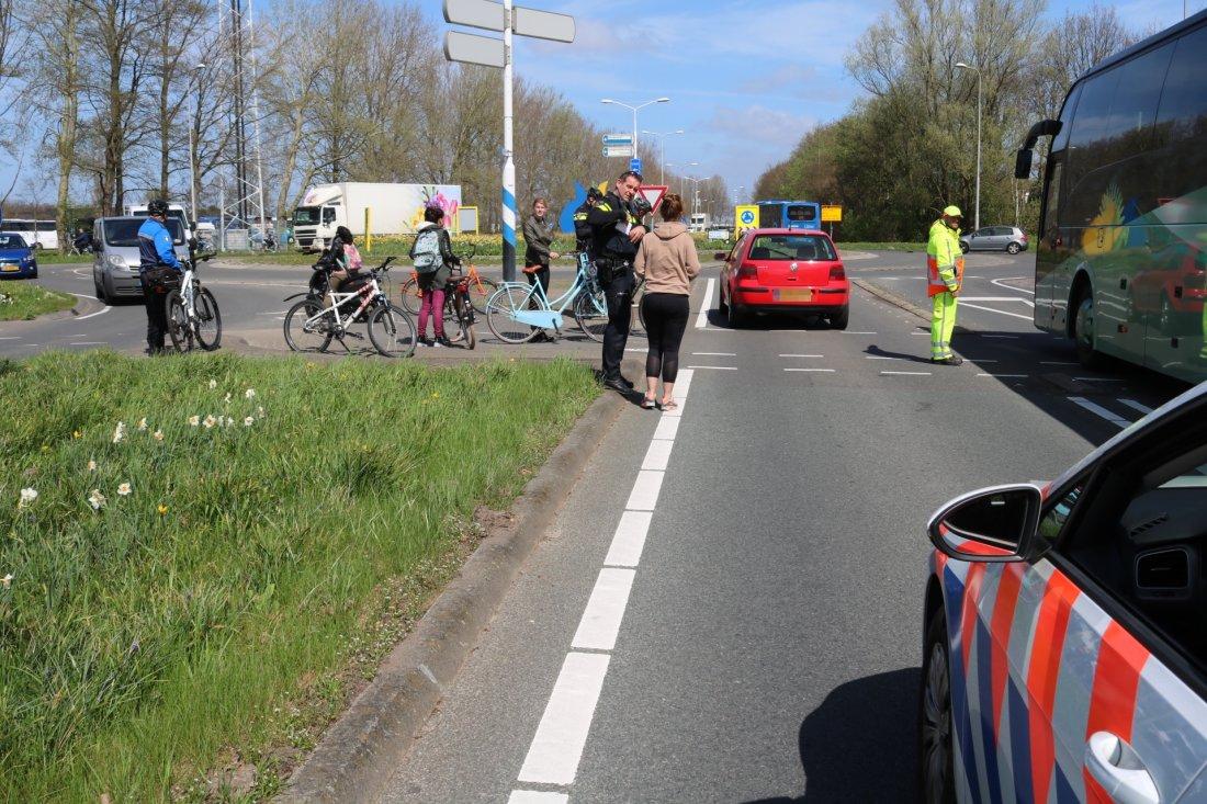 Ongeval Westelijke Randweg N208 auto/fiets  Lisse