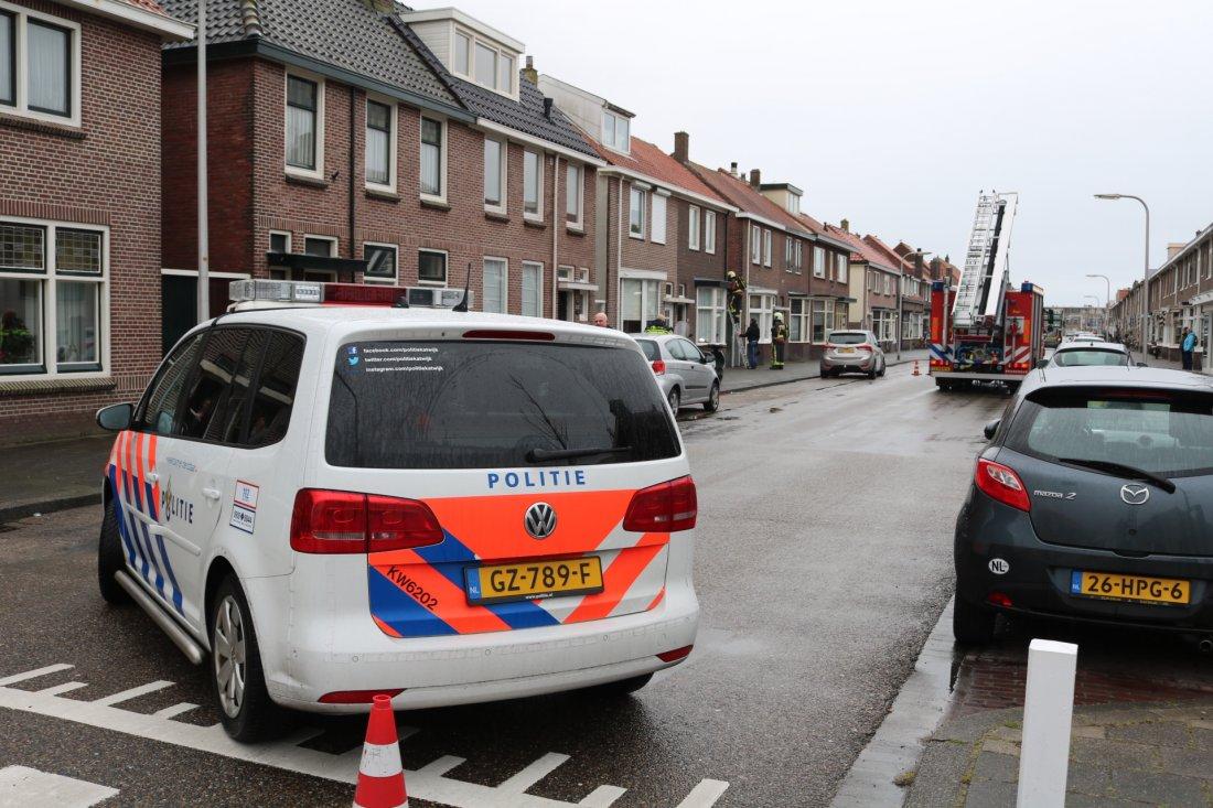 Rookmelder zorgt voor brandweer inzet Katwijk
