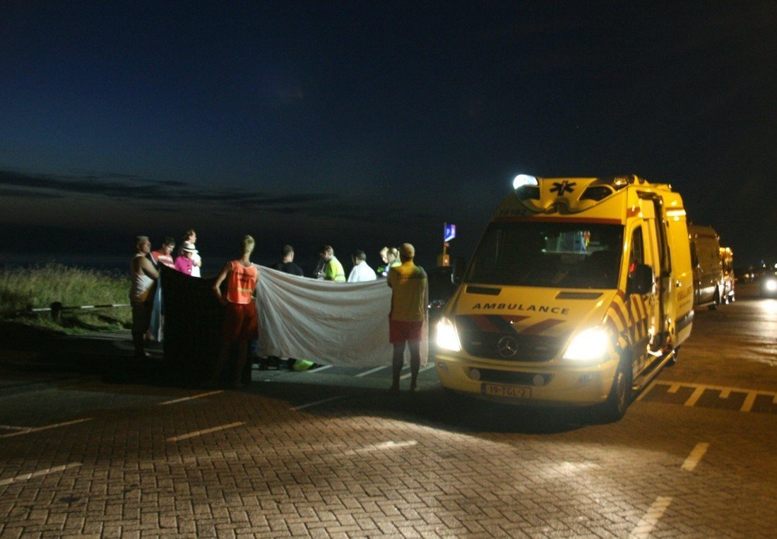 Assistentie ambulancedienst voor de NRB Koningin Astrid Boulevard Noordwijk