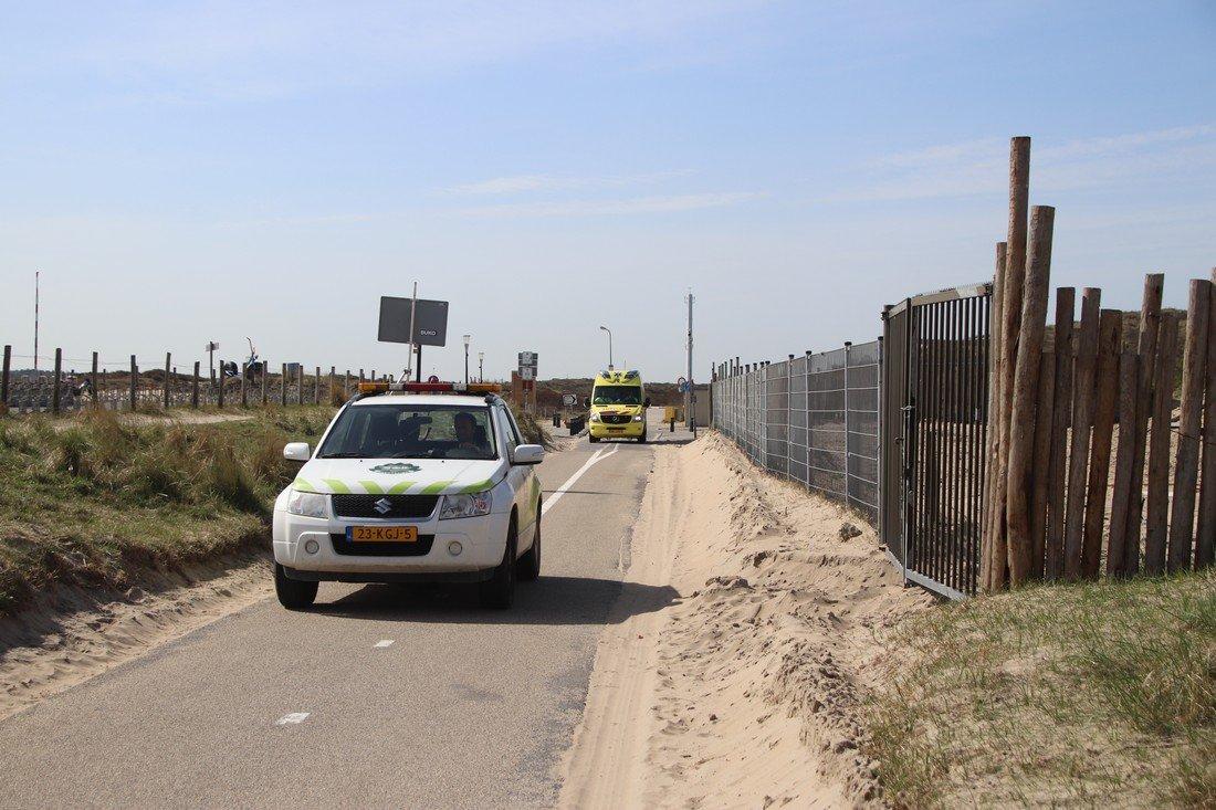 Wielrenner gewond door loslopende hond Langevelderslag Noordwijk