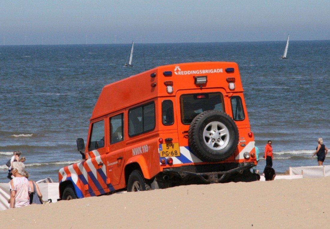 Inzet NRB strand afrit 12 Noordwijk