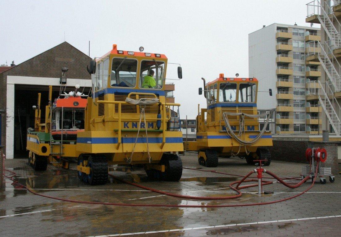 Vaartuig motor problemen thv de Langevelderslag