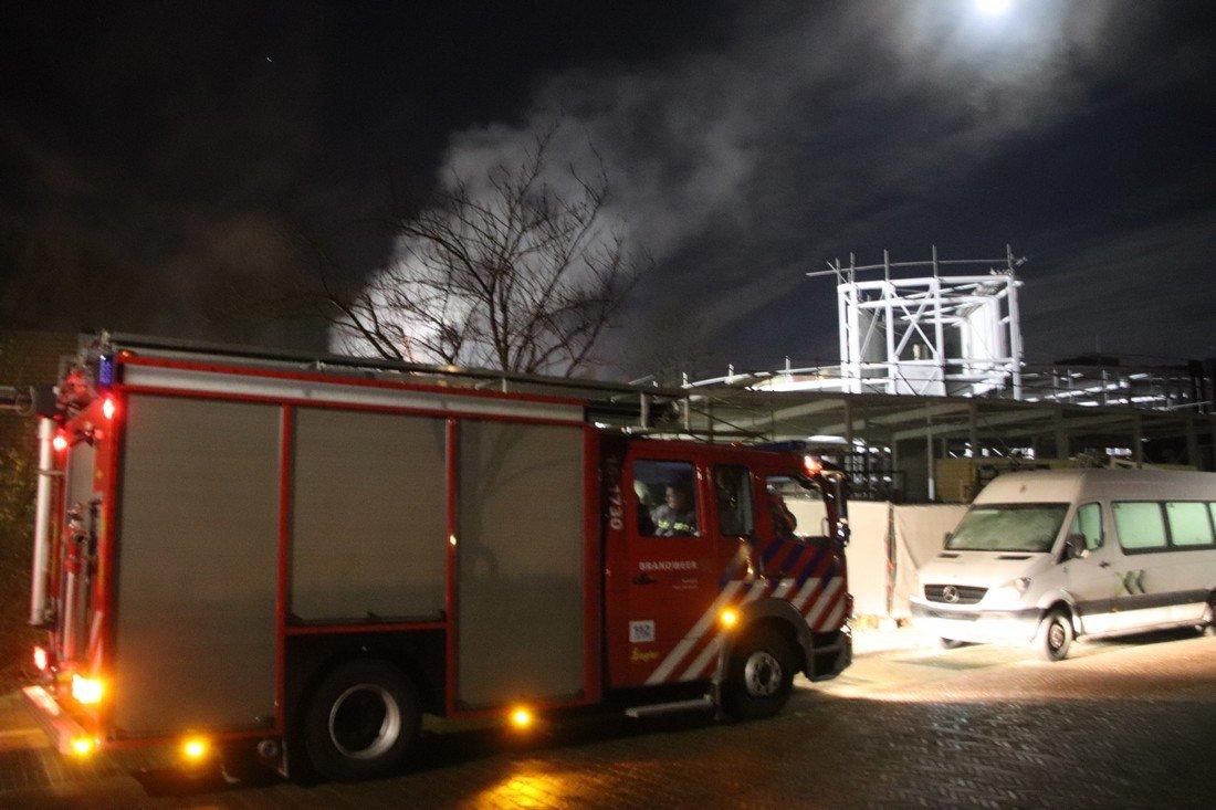 Gebouwbrand Piet Heinlaan Katwijk