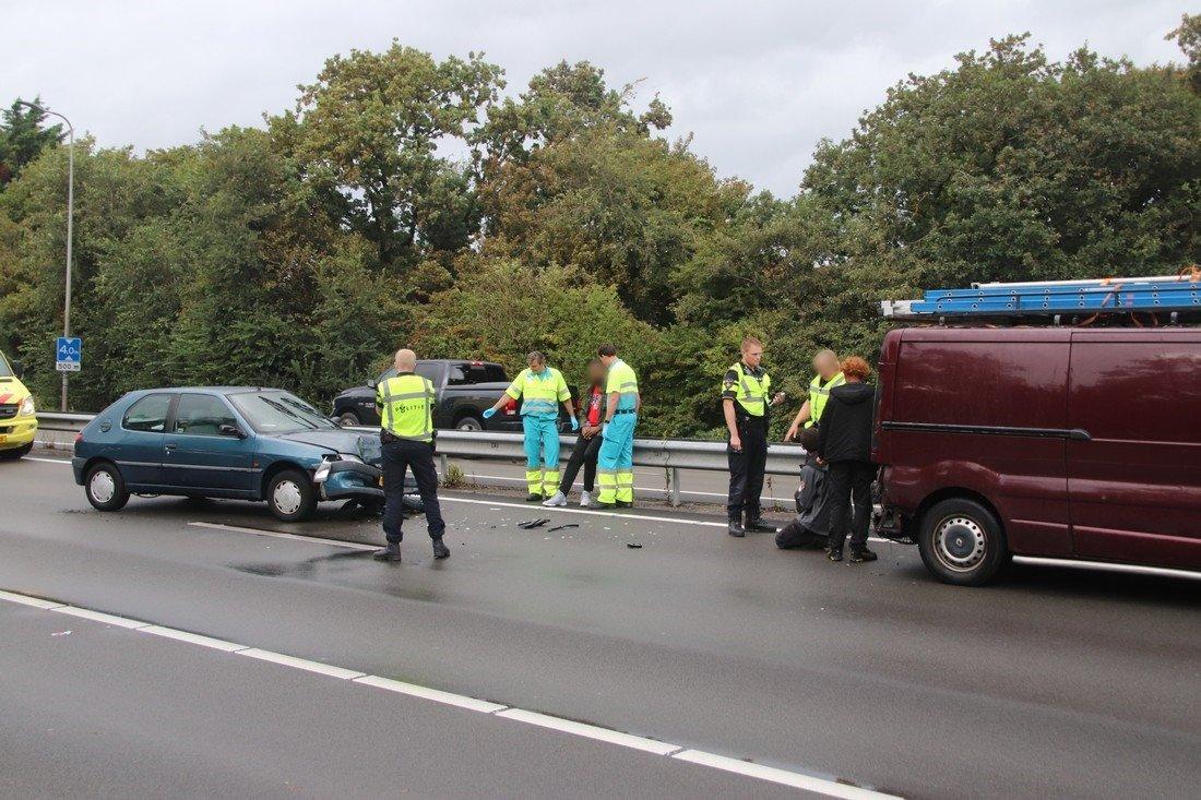 Ongeval N206 19,3 Katwijk