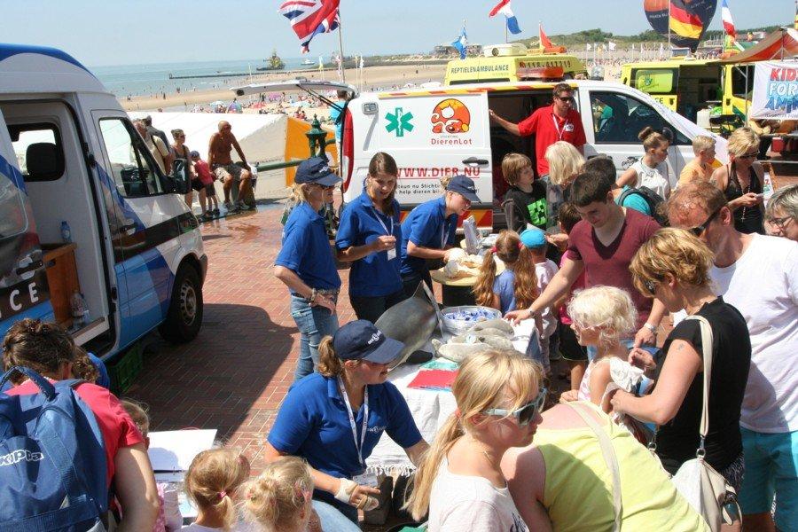 EHBZ en SOS Dolfijn aanwezig bij Rescue Vlissingen