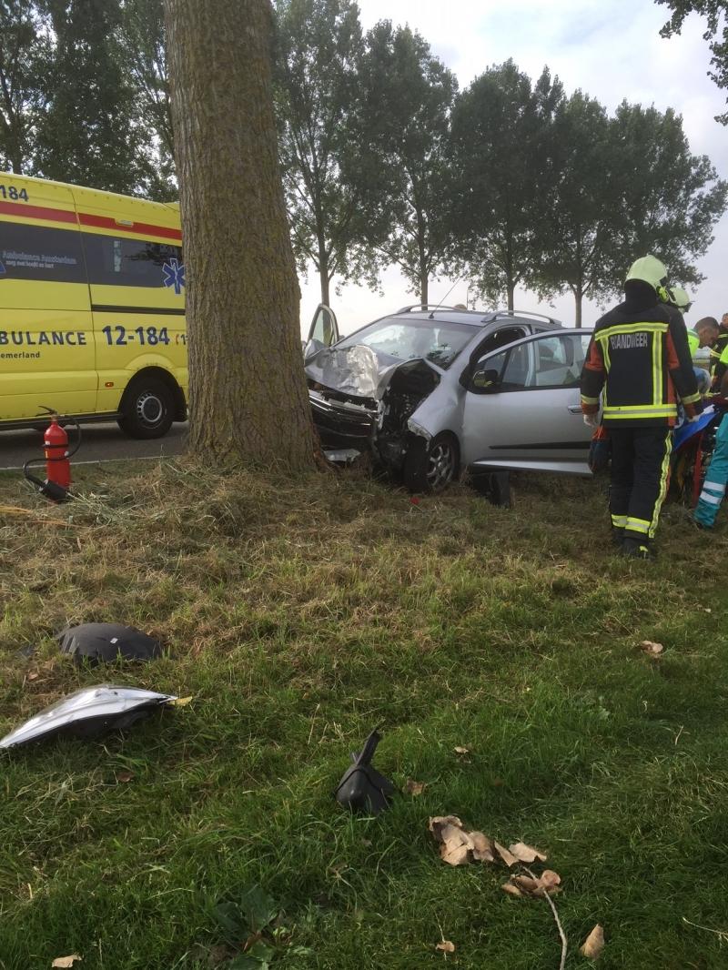 P1 Ongeval wegvervoer Hoofdweg Buitenkaag