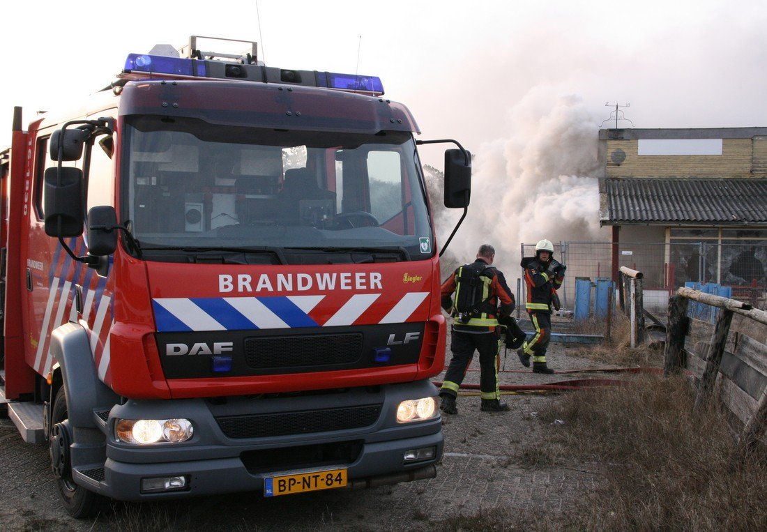 Zeer grote brand Northgodreef Noordwijk (Video update)