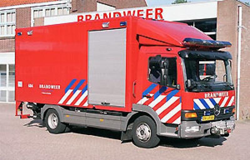P 1 Ongeval wegvervoer letsel (beknelling zwaar) A4 L 7,5 HDP 2031 1271