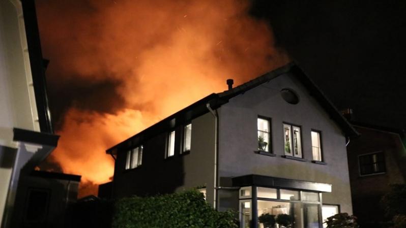 P1 Gebouwbrand De Vlashoven Noordwijkerhout