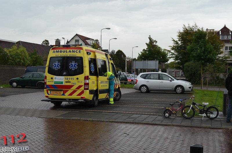 Ongeval in-/uitpandig (bevrijding licht) Kerklaan Sassenheim
