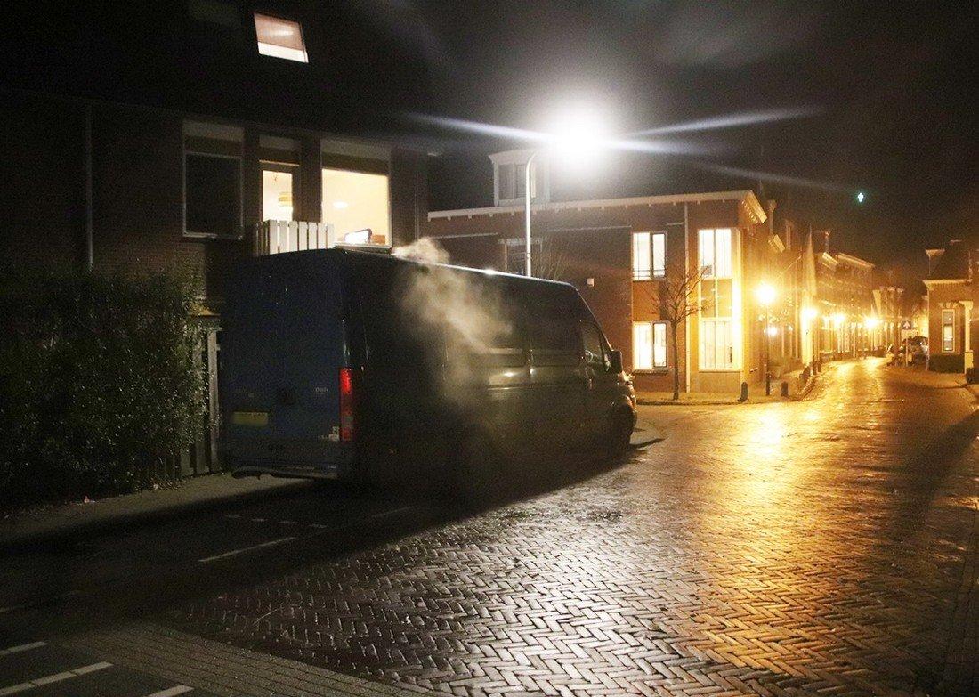 Voor de tweede keer vandaag voertuigbrand/houtkachel Noordwijk