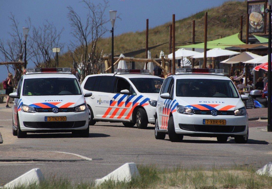 Inzet hulpdiensten Langevelderslag Noordwijk