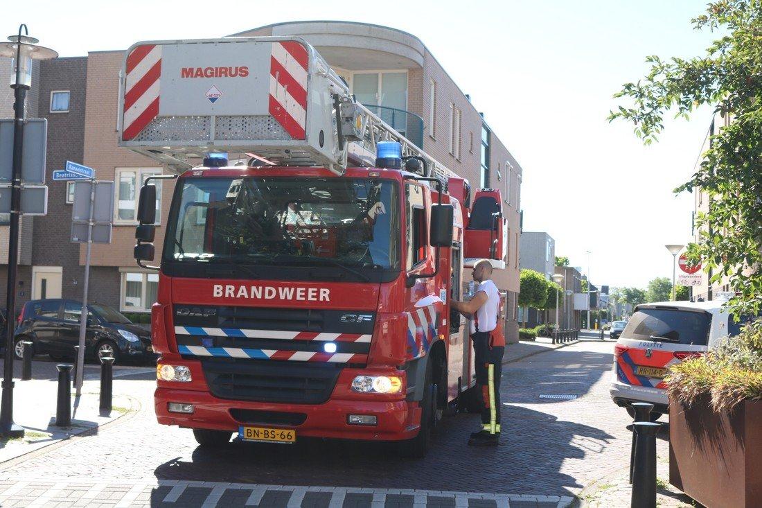 Kelderbrand Kanaalstraat Lisse