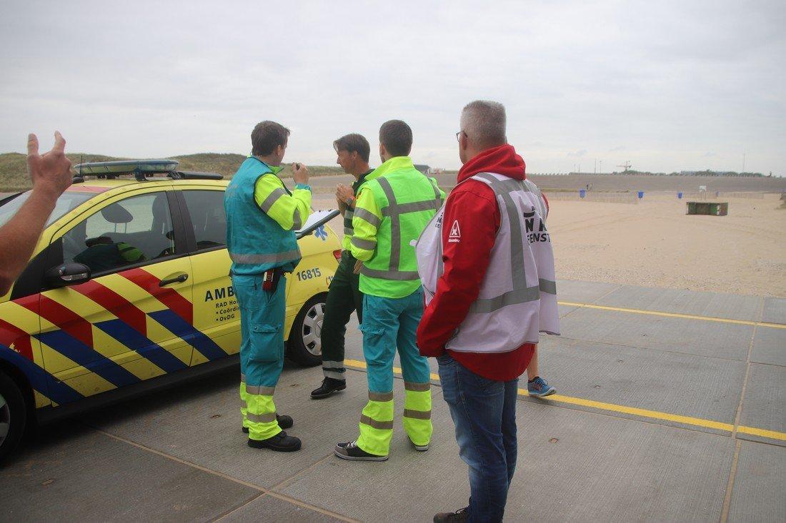 Grote hulpverleningsoefening Katwijk (update persbericht)