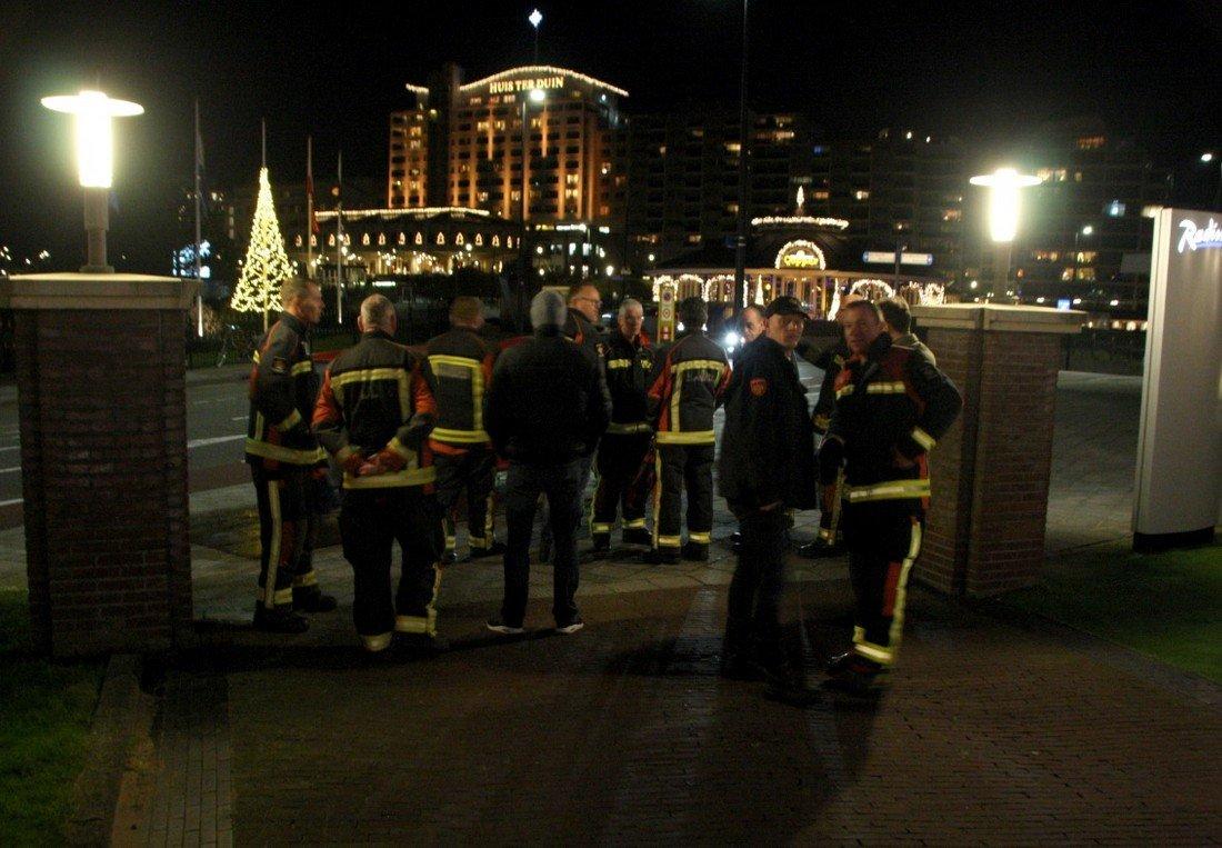 Brandweer Noordwijk neemt afscheid van vier collega's