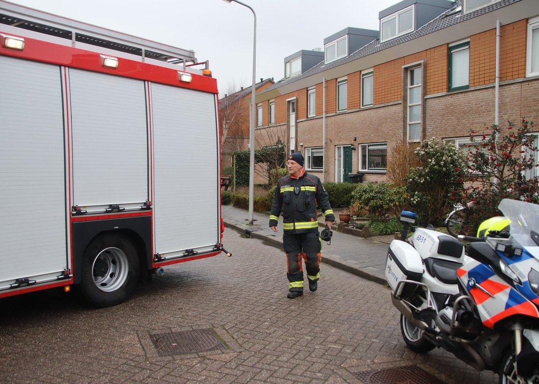 Vreemde lucht Bizetstraat Voorhout