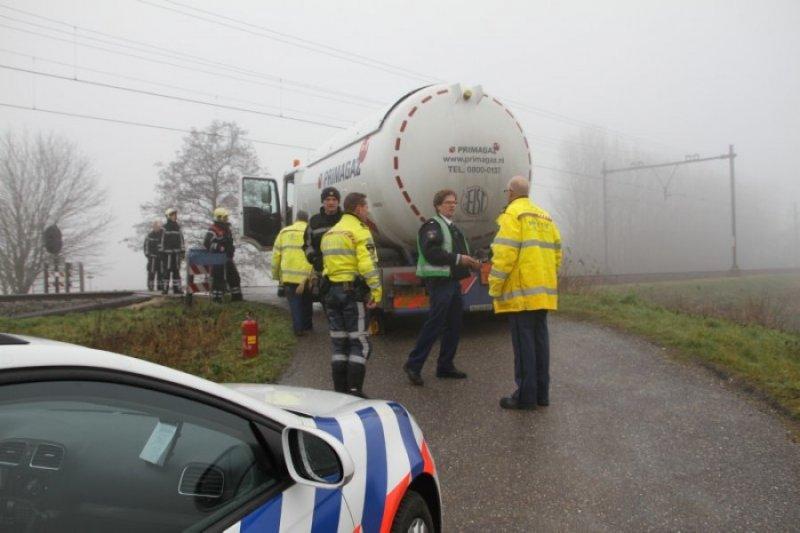 Wegvervoer aanrijding letsel Stationsweg Lisse