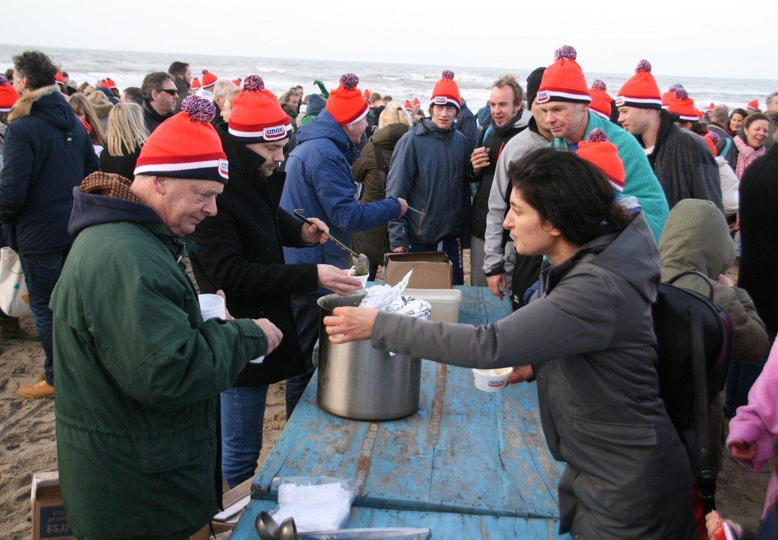 Nieuwjaarsduik 2018 Noordwijk