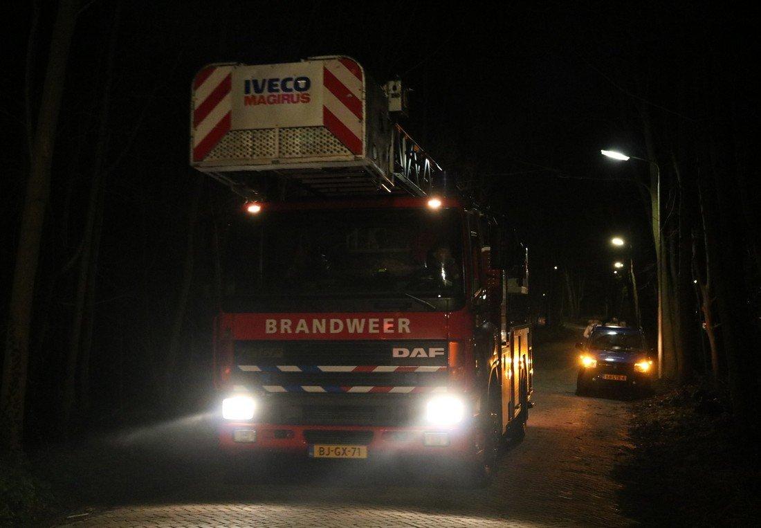 Gebouwbrand overige Zeereep Noordwijkerhout