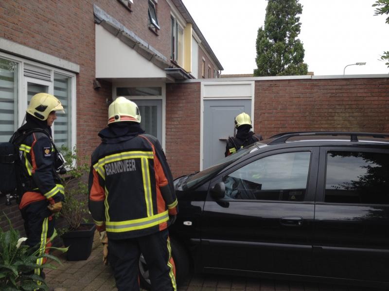 P 1 Brand bijgebouw Peperstraat 32 Voorhout