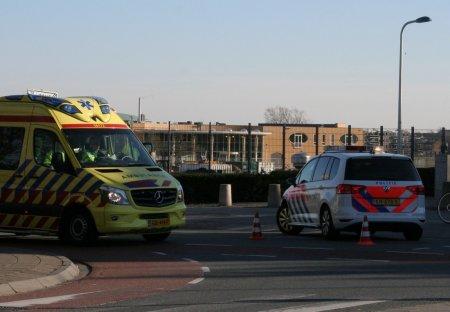 Ongeval auto/fietsster Duinweg/Nieuwe Zeeweg Noordwijk