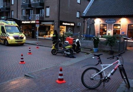 Ongeval scooter/scooter Kanaalstraat Lisse