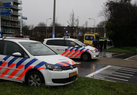 Ongeval auto/scooter afrit N206 Katwijk