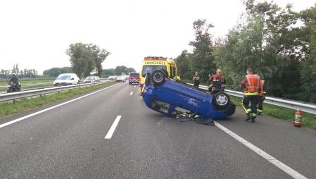 P1 Ongeval wegvervoer A44 Sassenheim