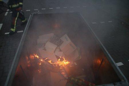 Contanairbrand Duinwetering Noordwijk