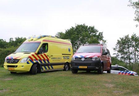 Persoon te water Duinschooten Noordwijkerhout