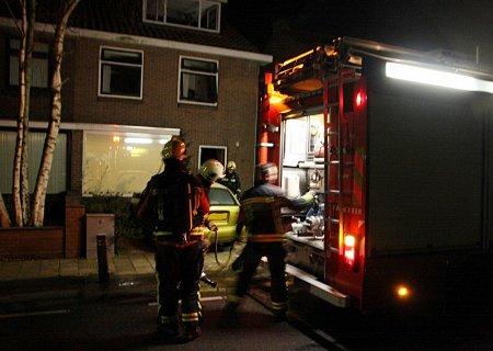 Woningbrand teylingerlaan Voorhout