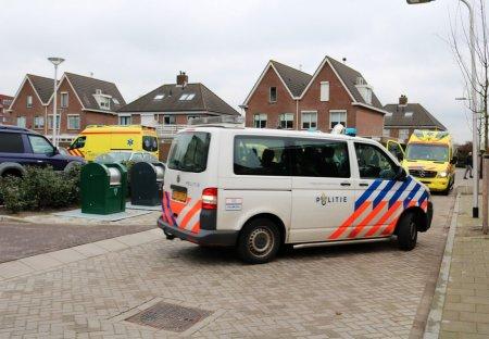 Persoon raakt gewond in appartementencomplex  Rijnsburg
