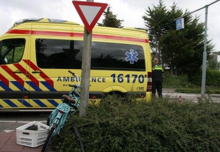 Ongeval auto / fietsster Oosthoutlaan Voorhout