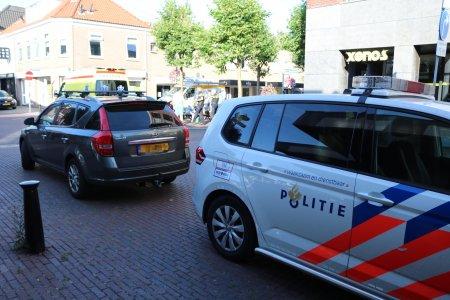 Ongeval auto en scooter Heereweg Lisse