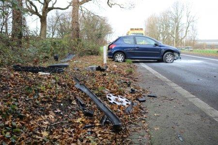 Ongeval A44 afrit 5 Sassenheim